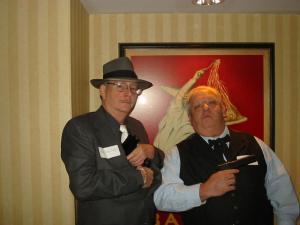 Randy Tallant and Joe Kalel as Ivory Ivanski and Giovanni Fishi
