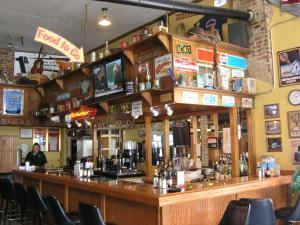 17. The bar