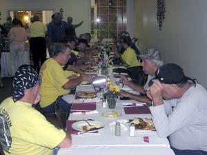 11. Members enjoying their lunch