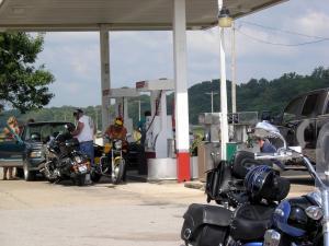 1. Gasing up at Marthasville