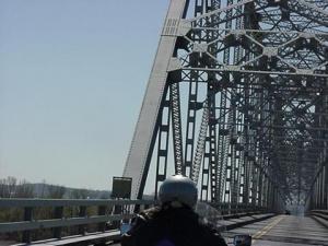 Kevin on the bridge