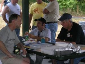 Eric Crum, Ira Steuer, Pat Walsh