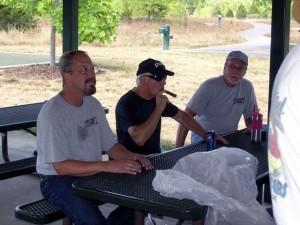 Dave Walters, Joe Flanter, John Geiler